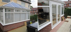 re-styled conservatory completion